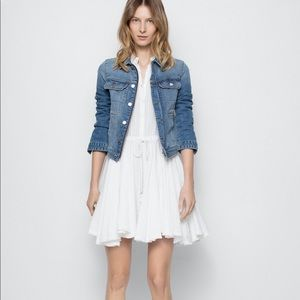 Zadig & Voltarie Ranil white cotton dress